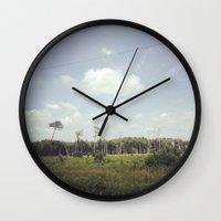 virginia Wall Clocks featuring Virginia by veromelen