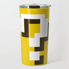 New Question Block Travel Mug
