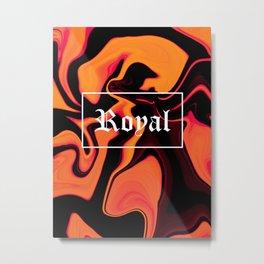 ASTRACT LIQUIDS VIII Metal Print