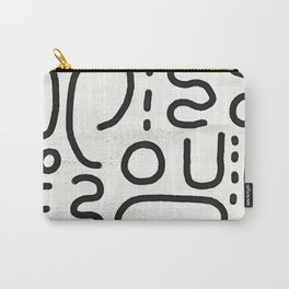 Shapely Carry-All Pouch