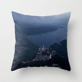 Hearth Of The Horizon Throw Pillow