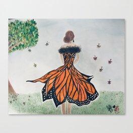 Monarch Queen Canvas Print