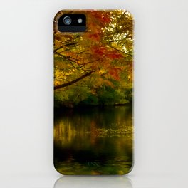 Fall Afternoon iPhone Case