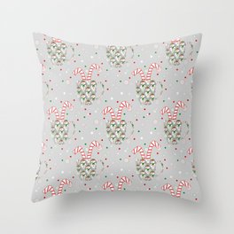Festive Flavors Throw Pillow