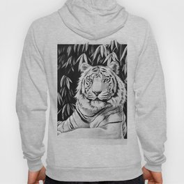 Endangered White Tiger Hoody