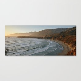 Big Sur Sunset III Canvas Print
