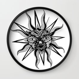 My only sunshine  Wall Clock