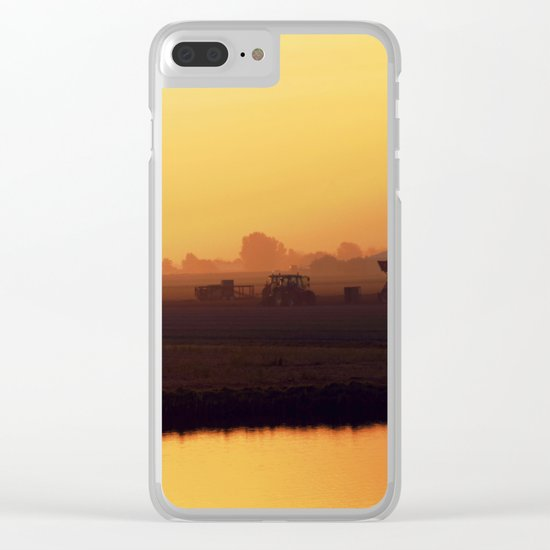 Morning activity #2 Clear iPhone Case
