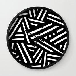 Monochrome 01 Wall Clock