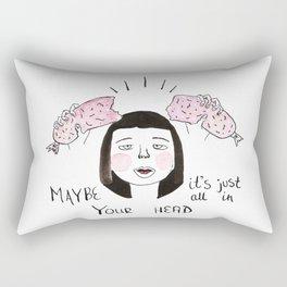 Sausage Girl 03 Rectangular Pillow