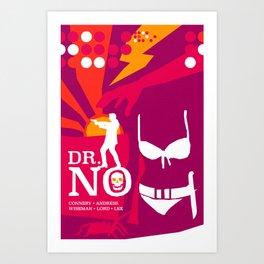 James Bond Golden Era Series :: Dr. No Art Print
