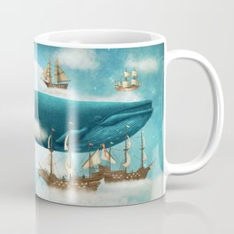 Ocean Meets Sky - revised Coffee Mug