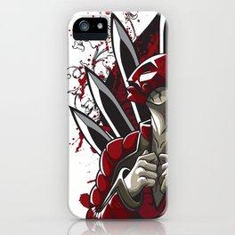Masked Assassin iPhone Case