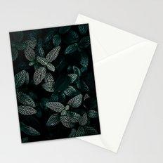 Dark Leaves 3 Stationery Cards
