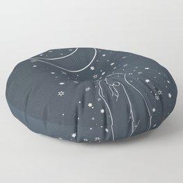 Reaching The Moon Floor Pillow