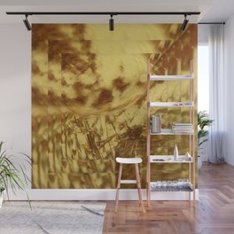 The Golden Day Abstract  Wall Mural