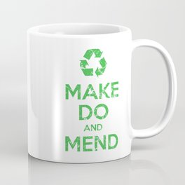 Make Do and Mend Coffee Mug