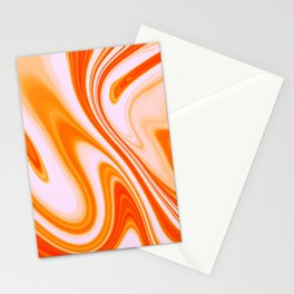 Abstract Fluid 14 Stationery Cards