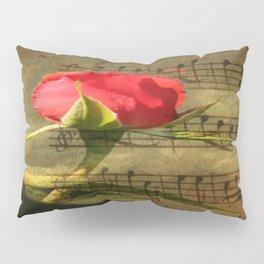 Vintage Love Story Symphony Pillow Sham