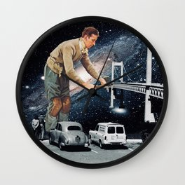 The Builder Wall Clock