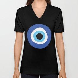 Evi Eye Symbol Unisex V-Neck
