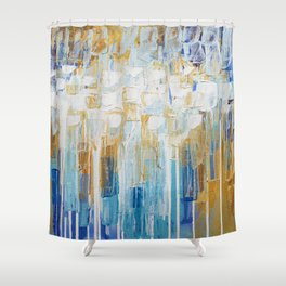 Organic Party No. 2 Shower Curtain