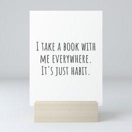 Take a Book Mini Art Print