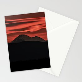 Mt Baker Sunrise Stationery Cards