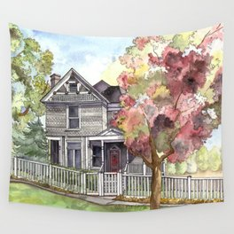 Springtime in the Country Wall Tapestry