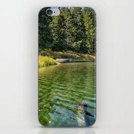 Jewel Like Tones of Clear Lake iPhone Skin