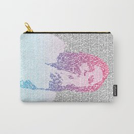 Badlands Lyrics (Gradient) Carry-All Pouch