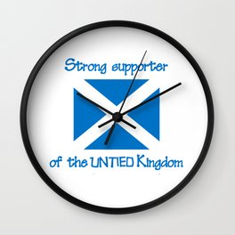 Supporter of the UNTIED Kingdom Wall Clock