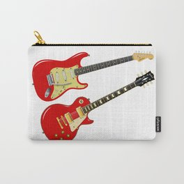 Red Elecric Guitars Carry-All Pouch