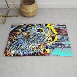 Color Kick - Guinea pig Rug