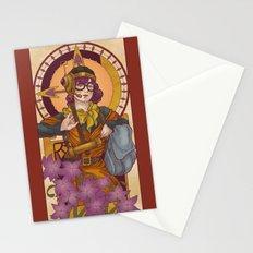 Chronos IV Nouveau Stationery Cards