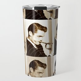Jazz Heroes Series - Chet Báker Travel Mug