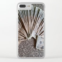 History and Money Clear iPhone Case