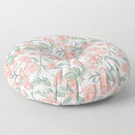 Blushing Birds Floor Pillow