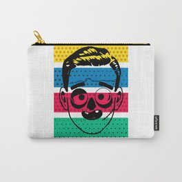 Creepy Gentleman Carry-All Pouch