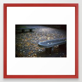 Autumn is Here Framed Art Print