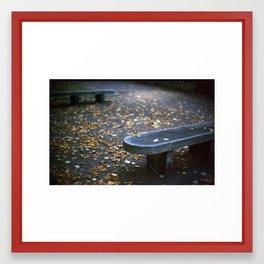 Autumn is Here Framed Art Print