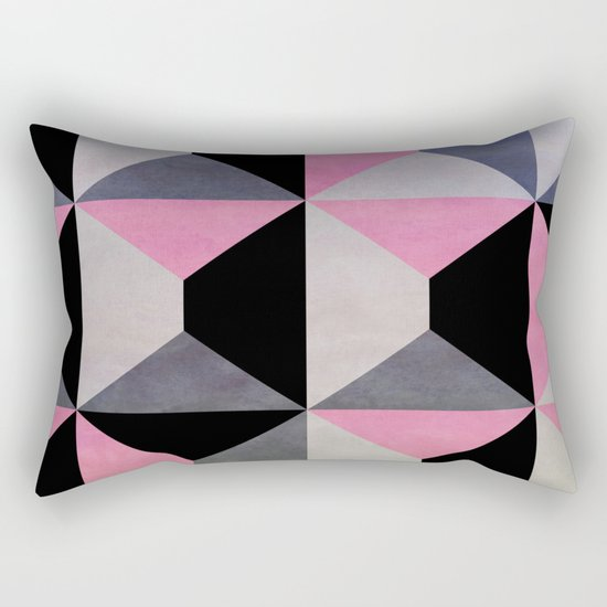 colour + pattern 9 Rectangular Pillow