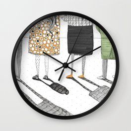 My shadow is shrinking!  Wall Clock
