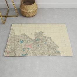 Aqueduct Commissioners topographical map of Croton Water ShedAdditional Topographical map of Croton Water ShedAdditional Topographical map of Croton W Rug