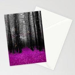 Firefly-purple Stationery Cards