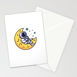 On The Moon Stationery Cards