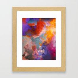Eclaircie Framed Art Print