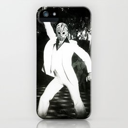 JASON VORHEES AS JOHN TRAVOLTA iPhone Case