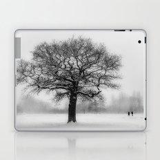 Walking in a winter wonderland Laptop & iPad Skin