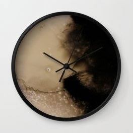 Ink Froth Wall Clock
